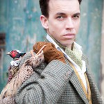 Dave Hill-Souch with vintage tweeds - the country gent look