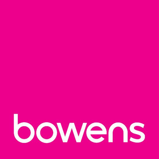 Bowens had a recent rebrand with new, pink logo